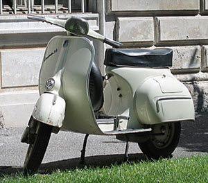 vespa scooter historie